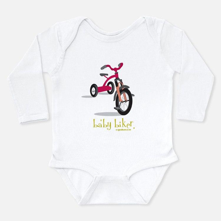 BabyBiker: Long Sleeve Infant Bodysuit
