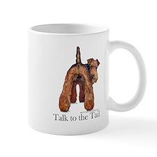 Airedale Terrier Talk Mug