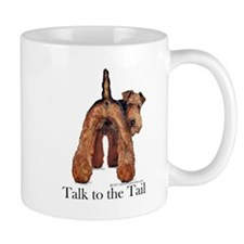 Airedale Terrier Talk Mug