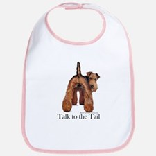 Airedale Terrier Talk Bib