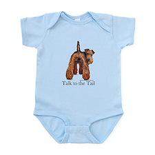 Airedale Terrier Talk Infant Bodysuit