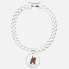 Airedale Terrier Talk Bracelet