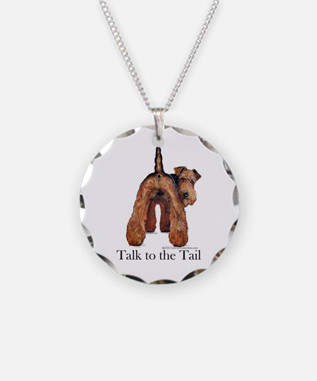 Airedale Terrier Talk Necklace