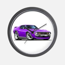 1971-74 Javelin Purple Car Wall Clock