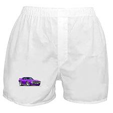 1971-74 Javelin Purple Car Boxer Shorts
