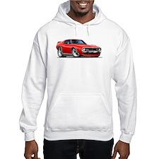 1971-74 Javelin Red Car Hoodie