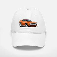 1971-74 Javelin Orange Car Baseball Baseball Cap