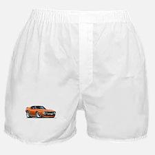 1971-74 Javelin Orange Car Boxer Shorts