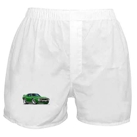 1971-74 Javelin Green Car Boxer Shorts