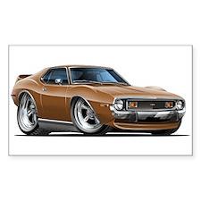 1971-74 Javelin Brown Car Decal
