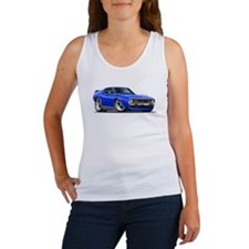 1971-74 Javelin Blue Car Women's Tank Top