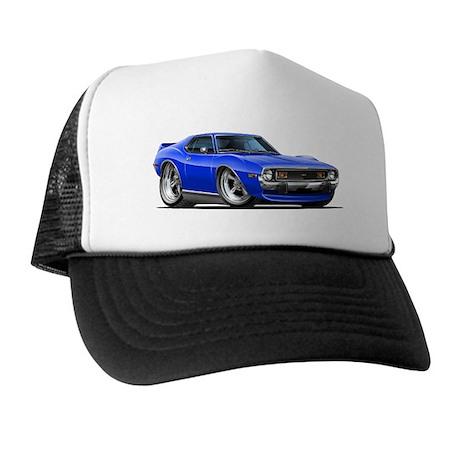 1971-74 Javelin Blue Car Trucker Hat