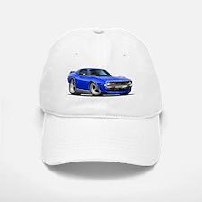 1971-74 Javelin Blue Car Baseball Baseball Cap