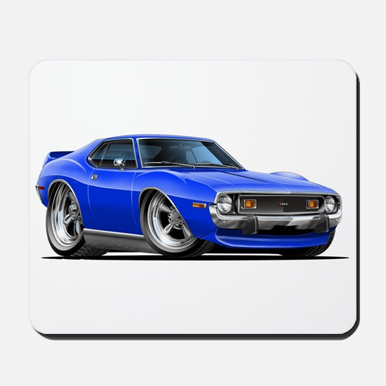 1971-74 Javelin Blue Car Mousepad
