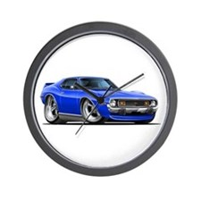 1971-74 Javelin Blue Car Wall Clock