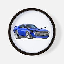 1971-74 Javelin Blue Car Wall Clock