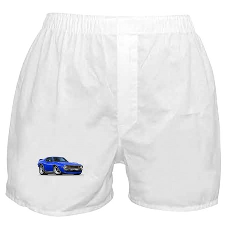 1971-74 Javelin Blue Car Boxer Shorts