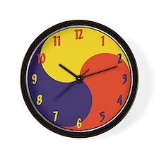 Sam Taegeuk Wall Clock