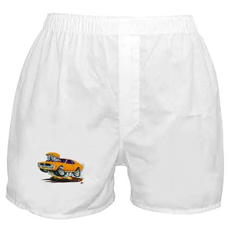 1969-70 Javelin Orange Car Boxer Shorts