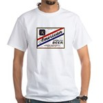1934 American Beer Label White T-Shirt