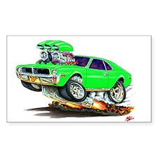 1969-70 Javelin Lime Car Decal