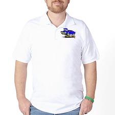 1969-70 Javelin Blue Car T-Shirt