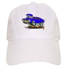 1969-70 Javelin Blue Car Baseball Cap