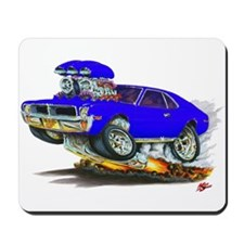 1969-70 Javelin Blue Car Mousepad
