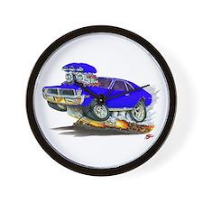 1969-70 Javelin Blue Car Wall Clock