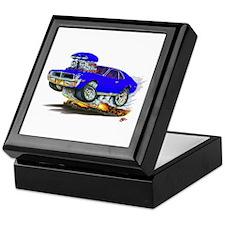 1969-70 Javelin Blue Car Keepsake Box