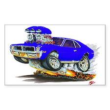 1969-70 Javelin Blue Car Decal