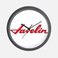 Javelin Emblem Wall Clock