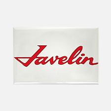 Javelin Emblem Rectangle Magnet