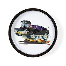 1969-70 Javelin Black Car Wall Clock