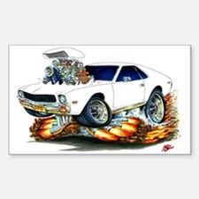 AMX White Car Decal