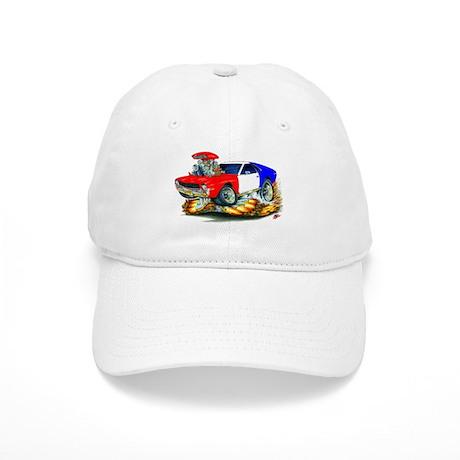 AMX RedWhiteBlue Car Cap