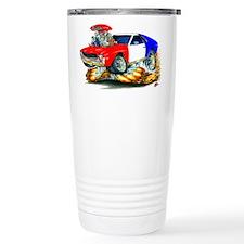 AMX RedWhiteBlue Car Travel Mug