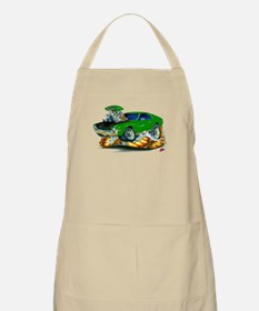 AMX Green/Black Car Apron