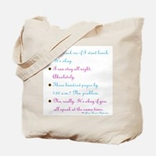 No problem reporter - Tote Bag