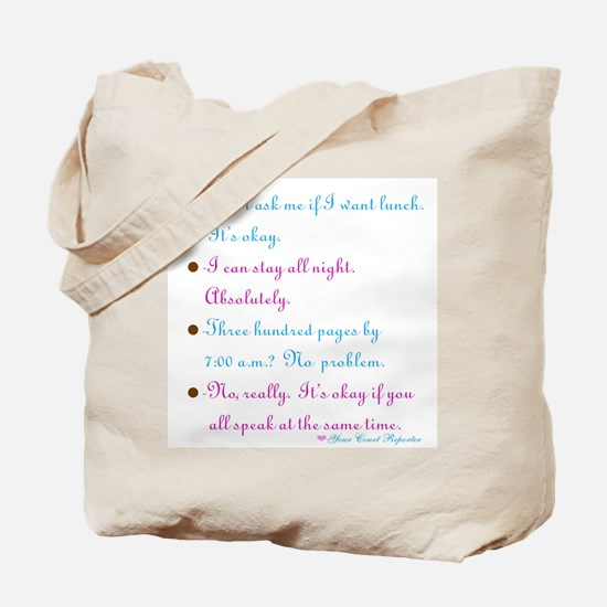 No problem reporter - Tote Bag