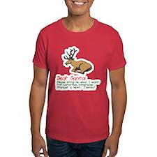 Dear Santa Shot Reindeer Pran T-Shirt