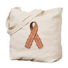 Bacon awareness ribbon Tote Bag