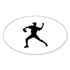 Baseball - Pitcher Decal