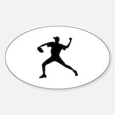 Baseball - Pitcher Decal