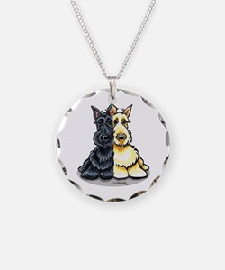 Black Wheaten Scottie Necklace
