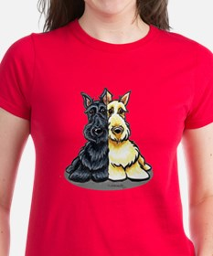 Black Wheaten Scottie Tee