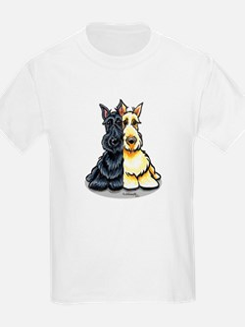 Black Wheaten Scottie T-Shirt