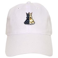 Black Wheaten Scottie Baseball Cap