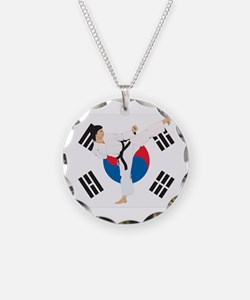 Taekwondo Necklace