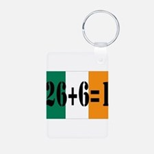 Irish pride Keychains